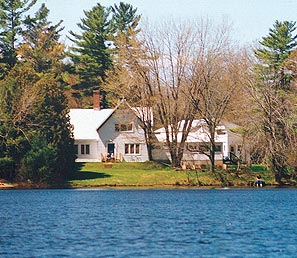 Photo: Madonna House main house in Combermere, Ontario